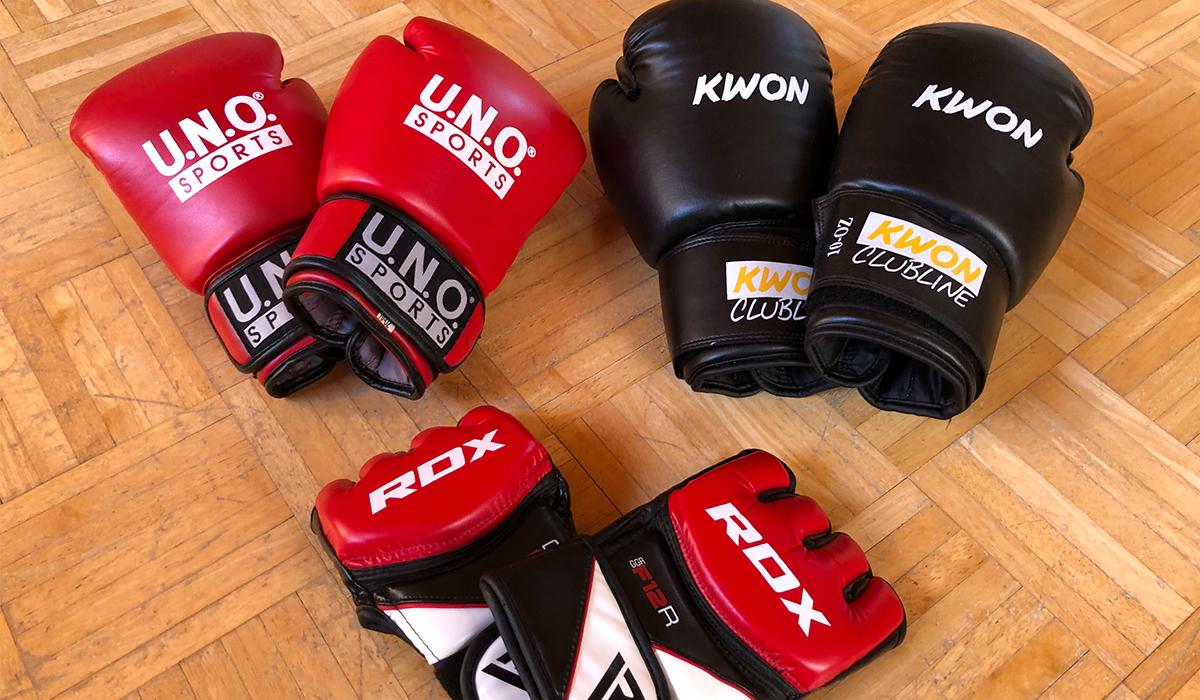 MMA- und Boxhandschuhe
